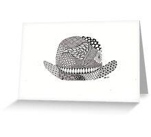 Bowler hat...morning sir Greeting Card