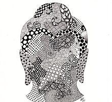 Buddha head by embeedesigns