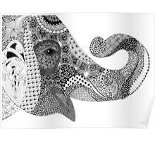 elephant whisper Poster
