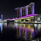 Marina Bay Sands At Night. Singapore. by Ralph de Zilva
