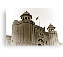 Lahore Fort Canvas Print