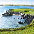 High tide at Goat Island, Whiting Bay, Co.Waterford by CliveOnBeara