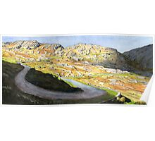 Healy Pass - Spring light Poster