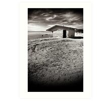 The Salton Sea where dreams go to die. Art Print