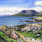 Hungry Hill from Shot Head, Adrigole by CliveOnBeara