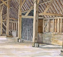 The Great Barn, Wanborough, Surrey by CliveOnBeara