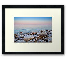 Pastel Sunrise Framed Print