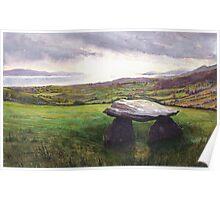 Ballynahowen evening, Beara Peninsula, Ireland Poster