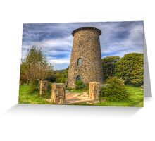 NIMMITABEL, NEW SOUTH WALES OLD GRAIN MILL Greeting Card