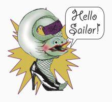 Hello Sailor! by aewayfarer
