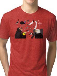 I Am Thankful For Birds Tri-blend T-Shirt