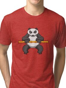 ninjitzoo - bamboo Tri-blend T-Shirt