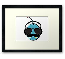 Robot 'stash Framed Print
