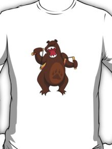ninjitzoo - foe grizzle T-Shirt