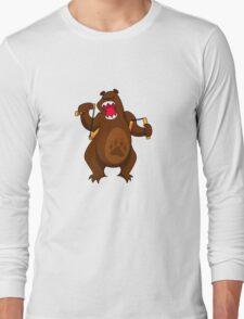 ninjitzoo - foe grizzle Long Sleeve T-Shirt