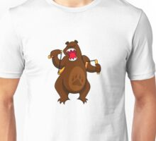 ninjitzoo - foe grizzle Unisex T-Shirt