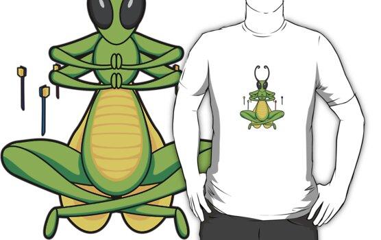 ninjitzoo - patient grasshopper by wynnter