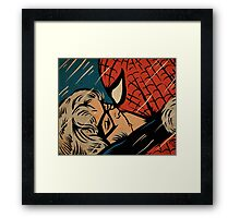 The Cat and Spider Framed Print