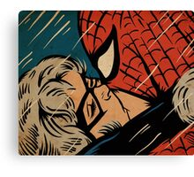 The Cat and Spider Canvas Print
