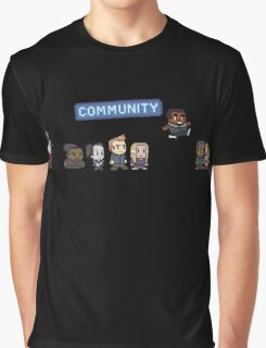 Pixel Community Graphic T-Shirt