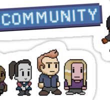 Pixel Community Sticker