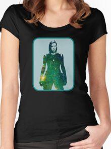Starbuck - Battlestar Galactica Women's Fitted Scoop T-Shirt