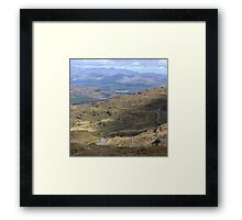 Cycling, the Kerry way Framed Print