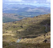 Cycling, the Kerry way Photographic Print