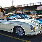 White Porsche 356 by Stuart Row