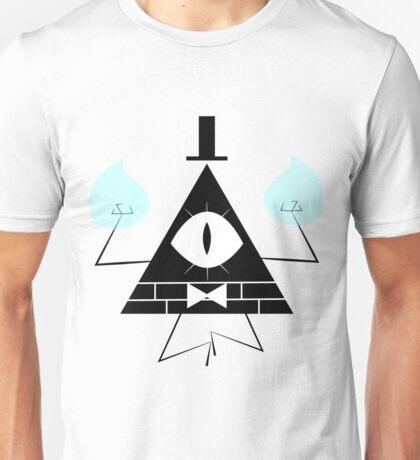Bill Cipher Black Unisex T-Shirt