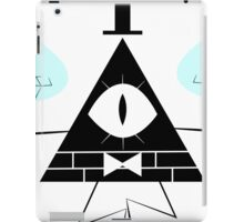 Bill Cipher Black iPad Case/Skin