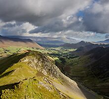 Robinson, Newlands Valley, Lake District by a h
