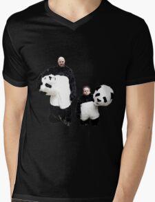 Karl and Warwick Mens V-Neck T-Shirt