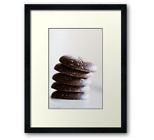 Chocolate Buttons Framed Print