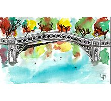 Bow Bridge Photographic Print