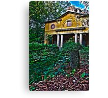 HDR house Canvas Print