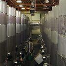 Wine vats by Penny Rinker