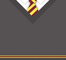 Gryffindor House Uniform by KatieBuggDesign