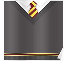 Gryffindor House Uniform Poster