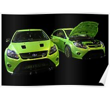 Two Green Focus RS Poster