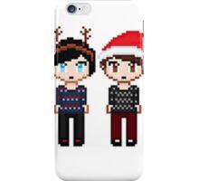 Dan and Phil Xmas iPhone Case/Skin