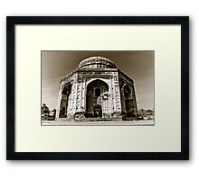 Ruins of a Tomb Framed Print