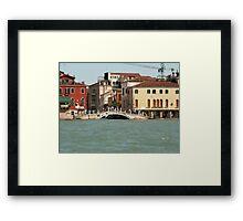 Bridge in Venice Framed Print