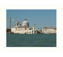 Modern and ancient Venice Art Print