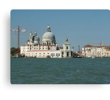 Modern and ancient Venice Canvas Print
