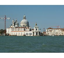 Modern and ancient Venice Photographic Print