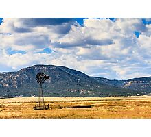 Windmill New Mexico Photographic Print