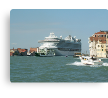 Cruise to Venice Canvas Print