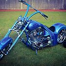 Custom bike. by Jeanette Varcoe.