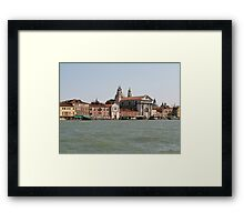 Street of Venice Framed Print